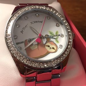 Betsey Johnson sloth watch